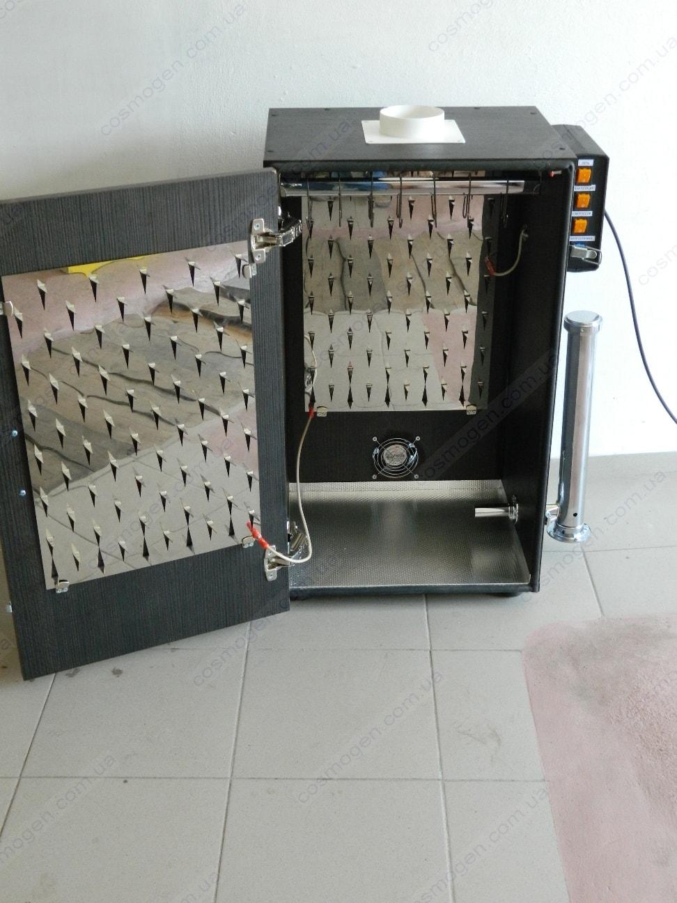Электростатическая коптильня из развертки телевизора