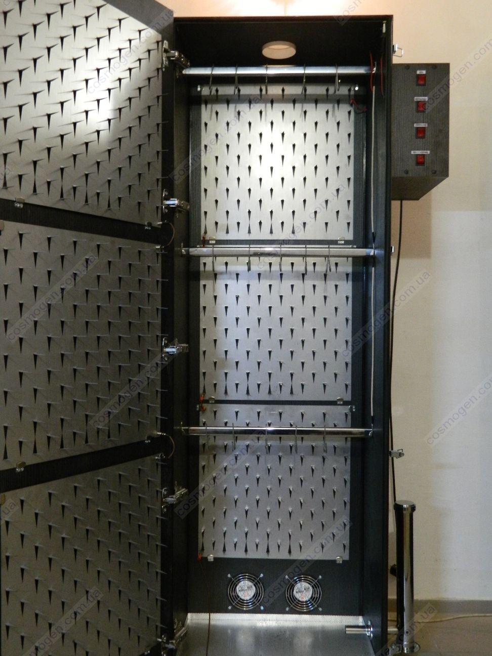 Коптильный шкаф схема